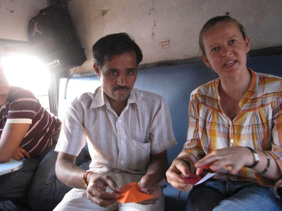 Indien: Mini-Origami-Workshop